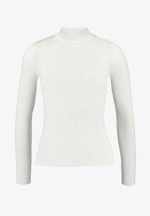 NOGALAS - Strickpullover - white