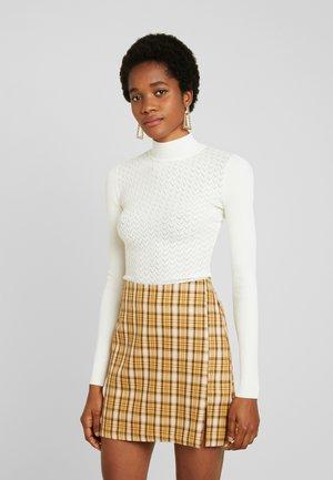 NOGALAS - Pullover - white