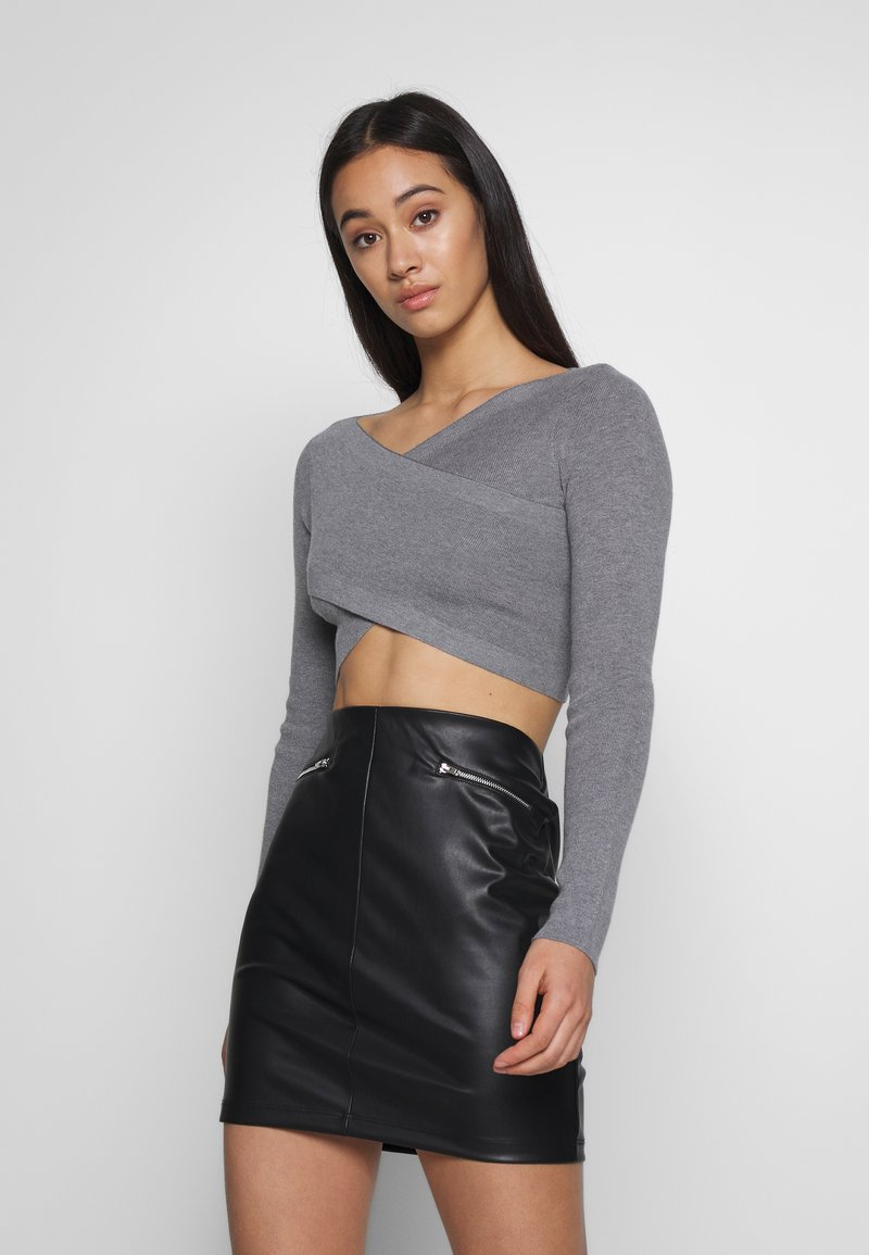 Fashion Union - OZARK - Pullover - grey