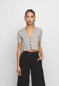 Fashion Union - BLUEMINK - Gilet - grey marl - 0