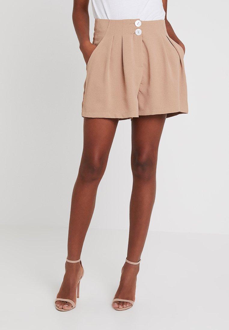 Fashion Union - JANIE - Short - camel