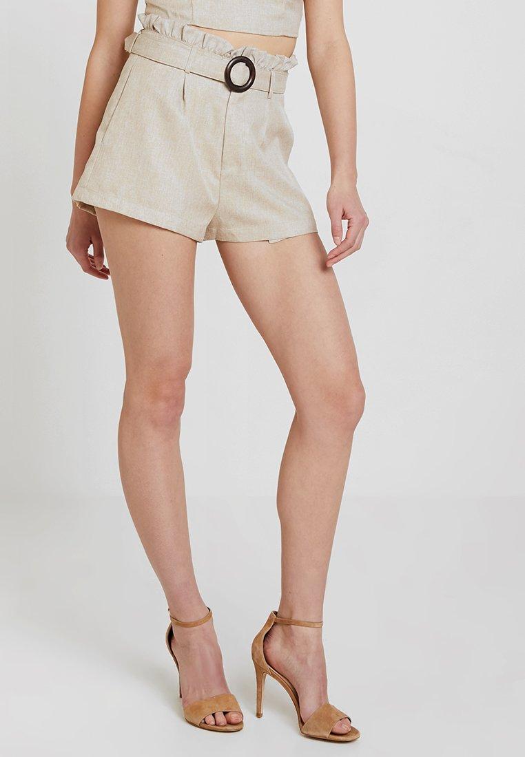 Fashion Union - ABBIE - Shorts - beige