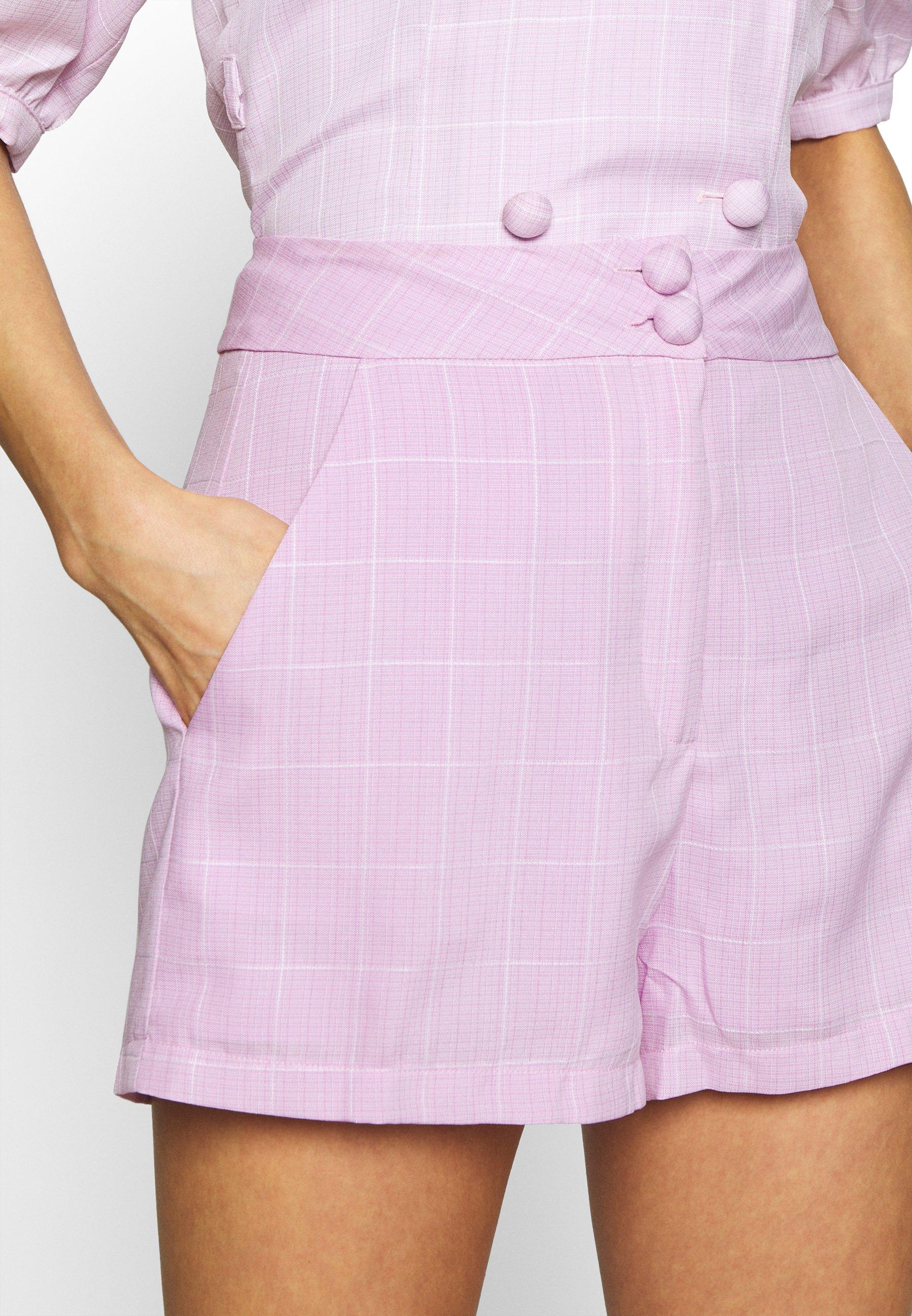 Fashion Union BABBY - Szorty - pink