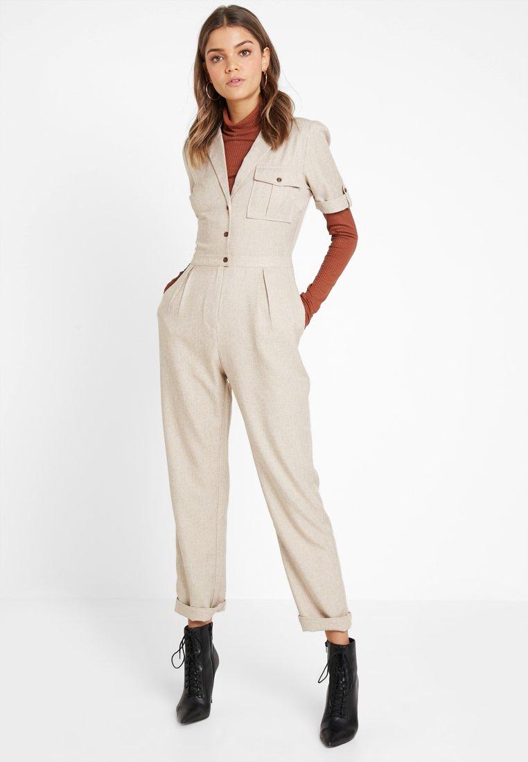 Fashion Union - UTILITY RARY - Combinaison - beige