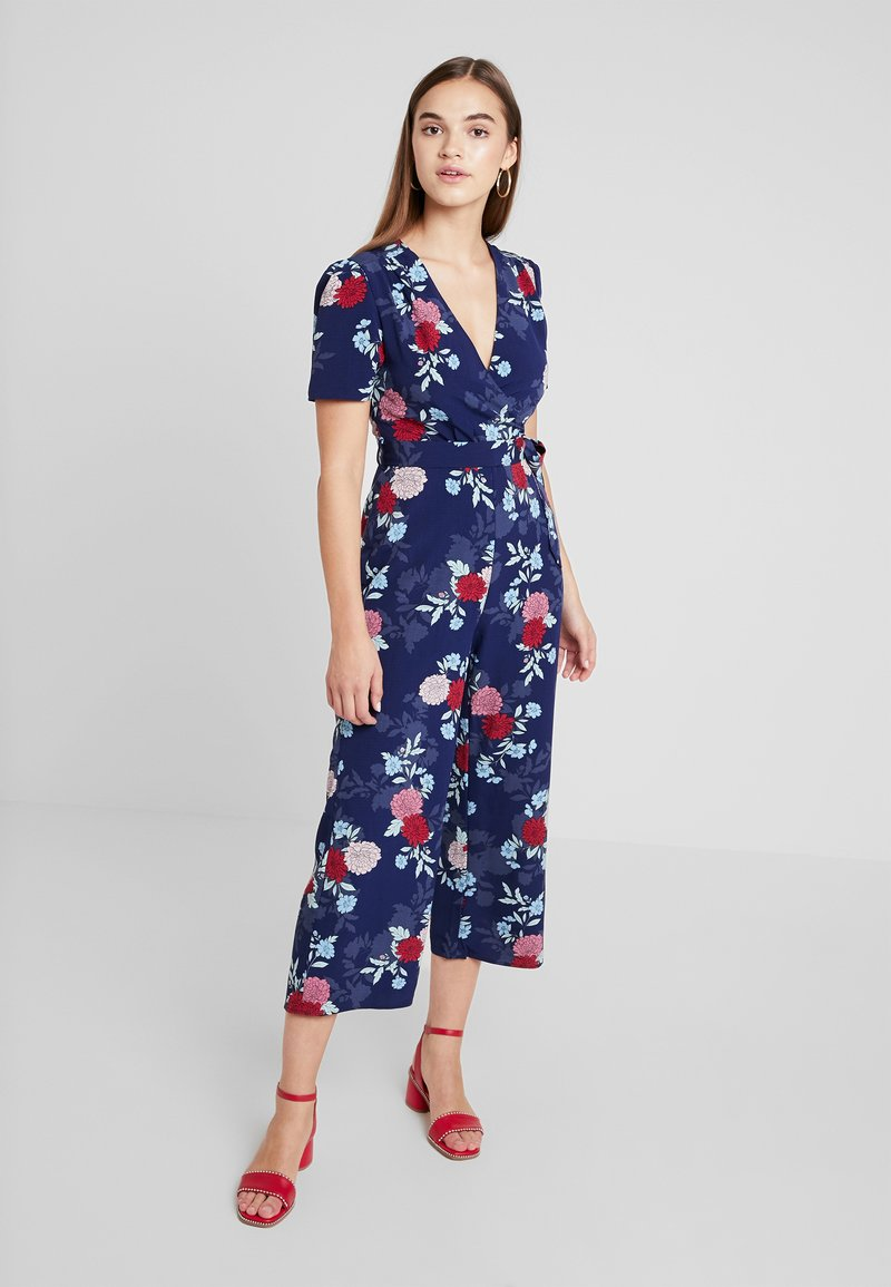 Fashion Union - EXCLUSIVE PRYOR - Jumpsuit - dark blue