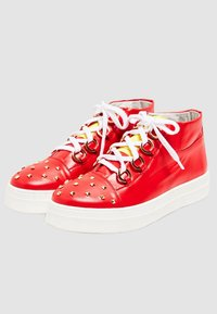 faina - Sneakers hoog - red - 3
