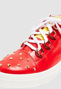 faina - Sneakers hoog - red - 6