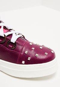 faina - Baskets montantes - dark purple - 6