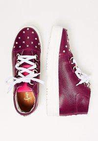 faina - Baskets montantes - dark purple - 2