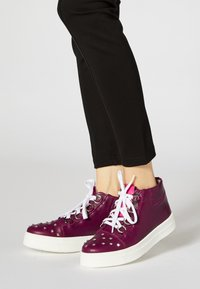 faina - Baskets montantes - dark purple - 0