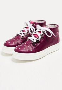 faina - Baskets montantes - dark purple - 3