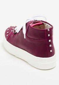 faina - Baskets montantes - dark purple - 4