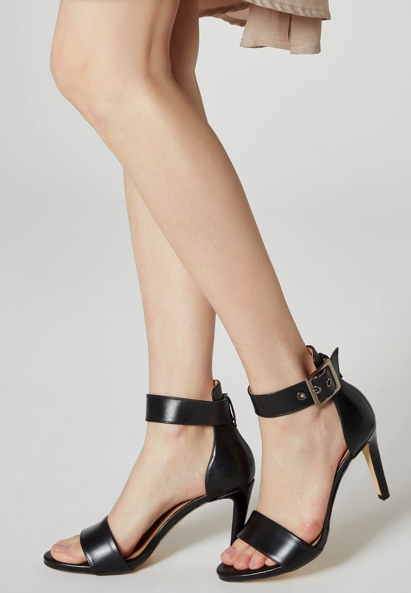 Faina - Sandalen met hoge hak - black