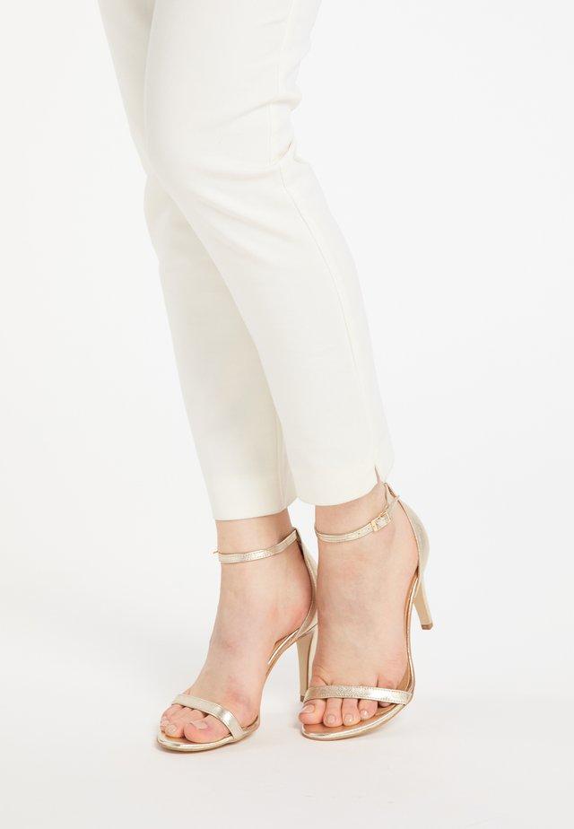 HIGH-HEEL-SANDALETTE - High heeled sandals - gold