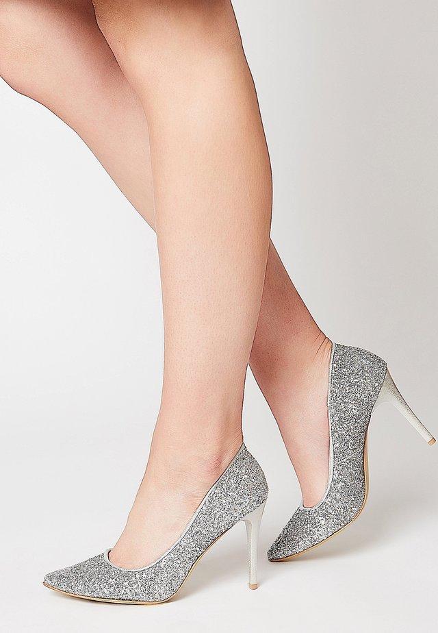 ELEGANTE - High heels - silber