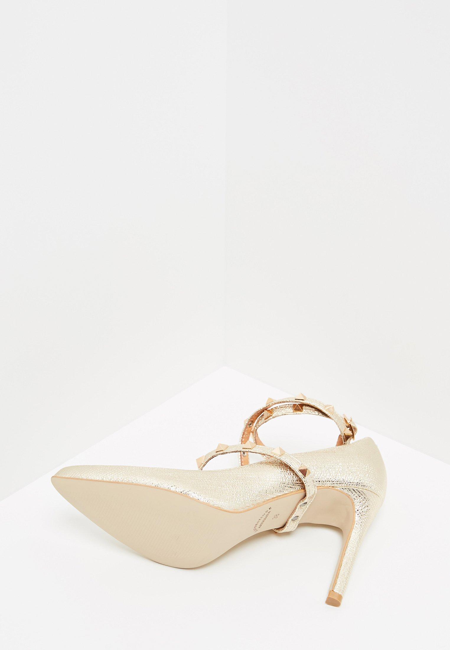 faina High heels - gold