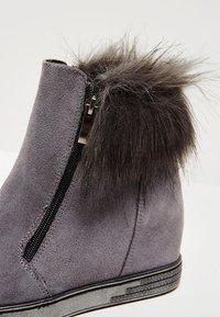 faina - Winter boots - grey - 6