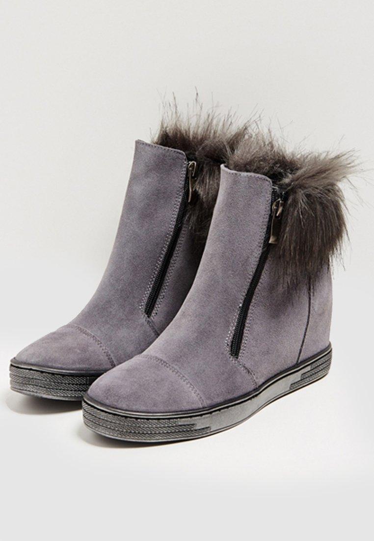 faina Stivali da neve - grey YDtcfBoe