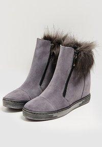 faina - Winter boots - grey - 3