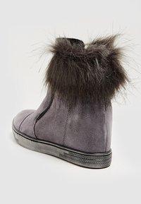faina - Winter boots - grey - 4