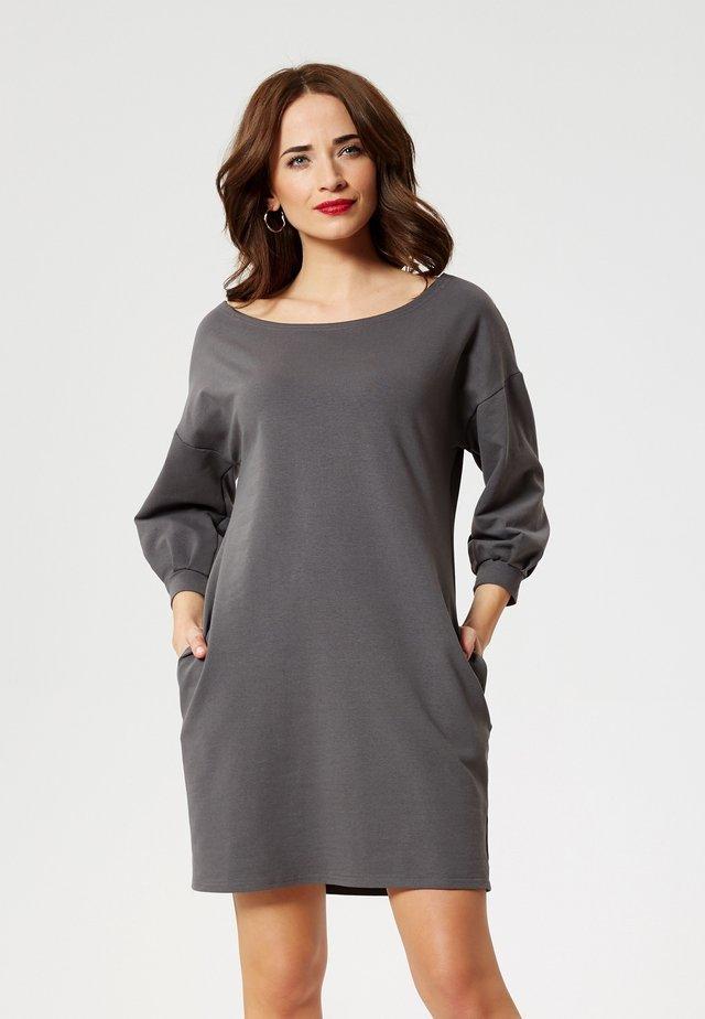 Day dress - graphite
