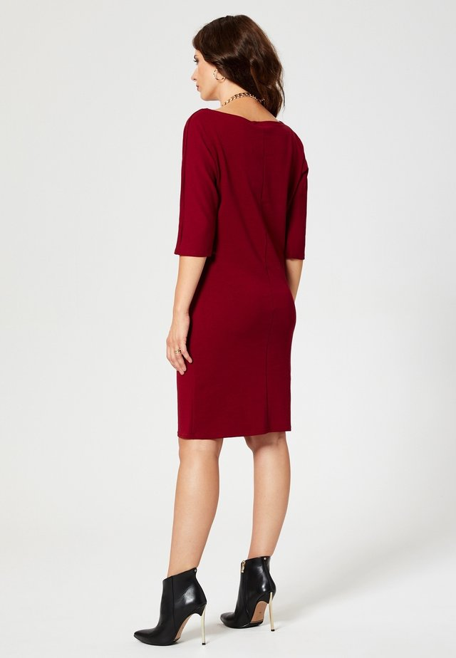 Jerseyjurk - maroon