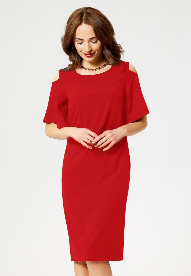 faina - Day dress - red