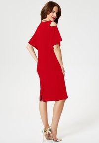 faina - Day dress - red - 2