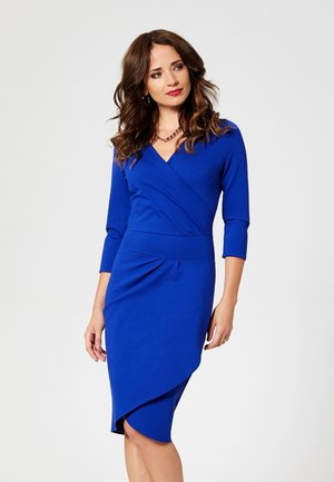 Shift dress - cornflower blue