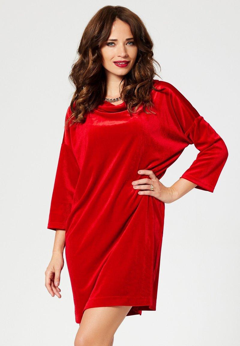 faina - Sukienka koktajlowa - red