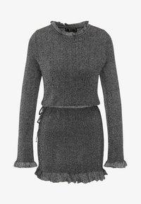 faina - Robe pull - silver - 4
