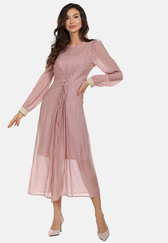 Sukienka letnia - dark pink