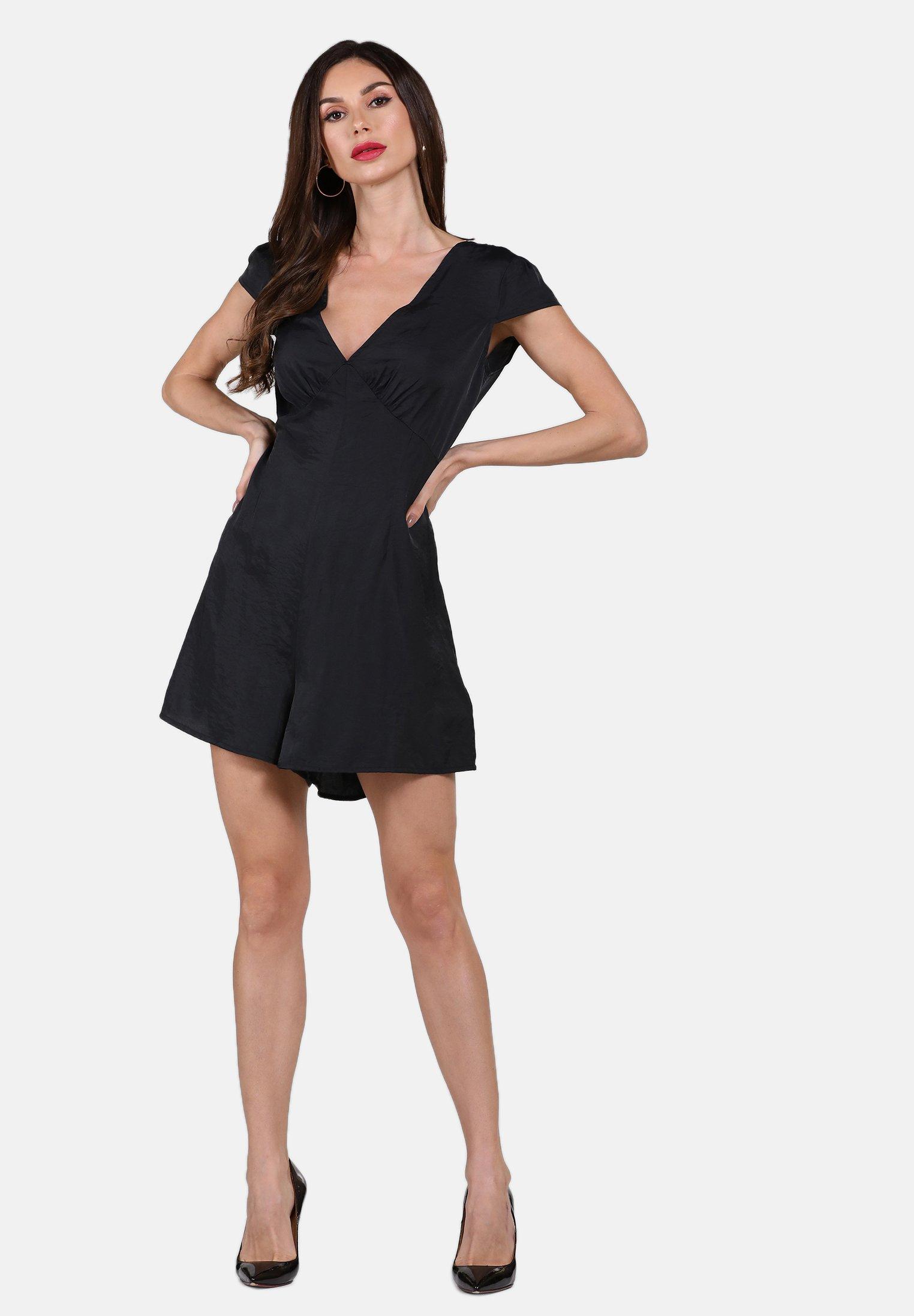 Faina Overall / Jumpsuit - Black