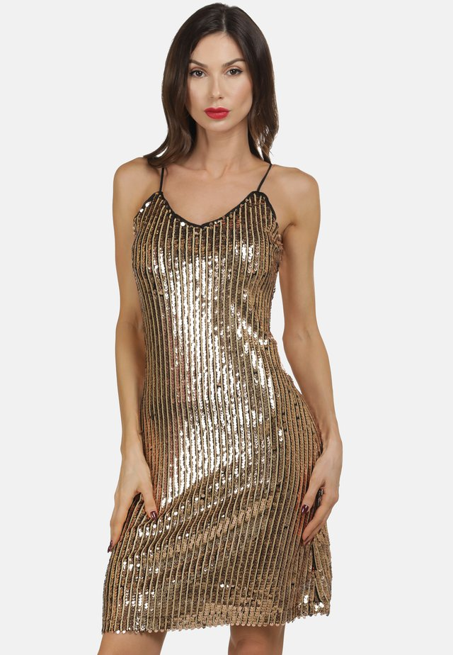 KLEID - Cocktail dress / Party dress - champagner