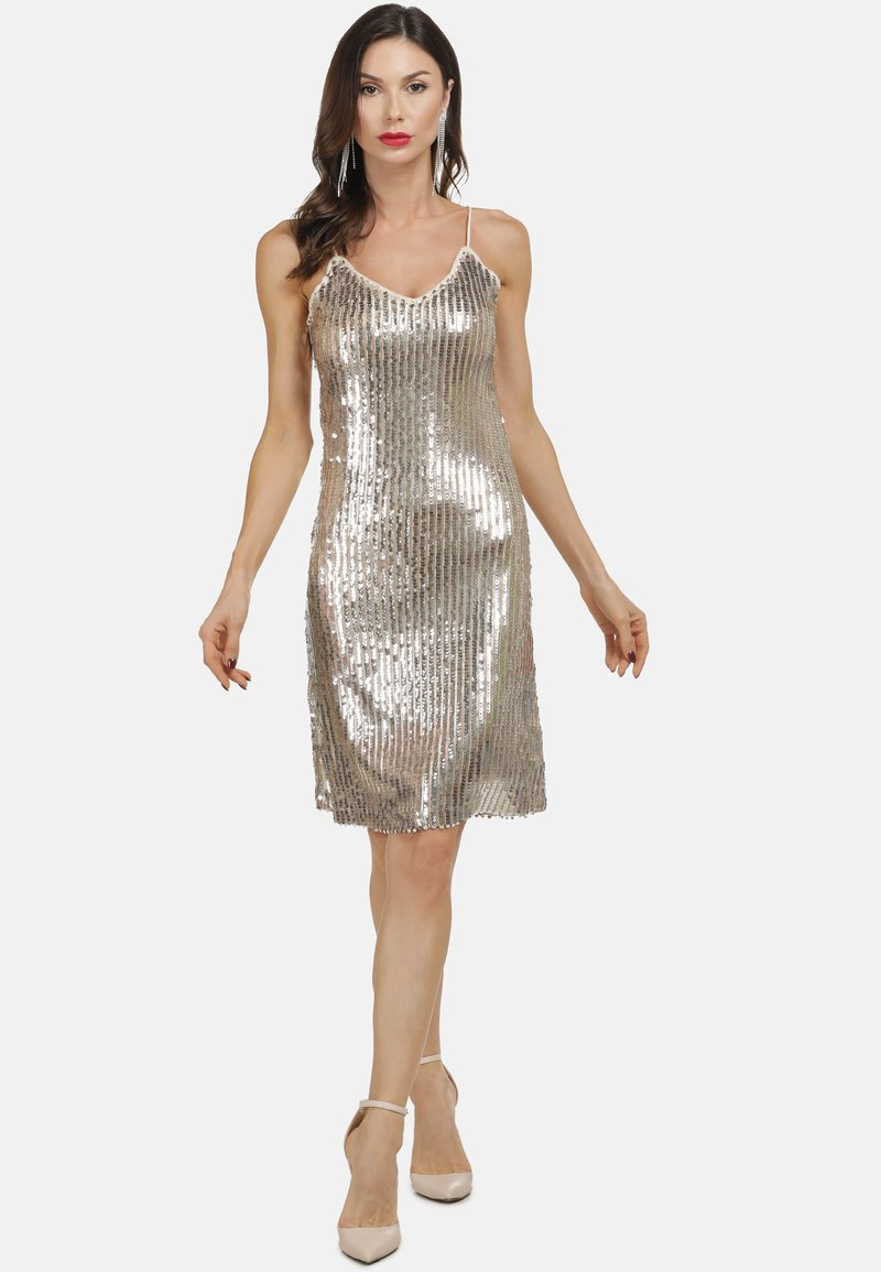 KLEID - Cocktail dress / Party dress - gold