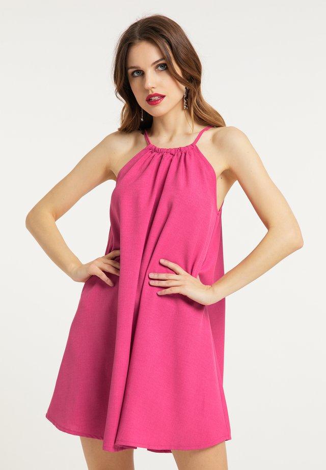 SOMMERKLEID - Sukienka letnia - pink fuchsia