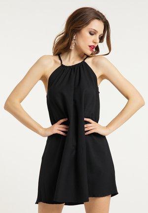 SOMMERKLEID - Korte jurk - schwarz