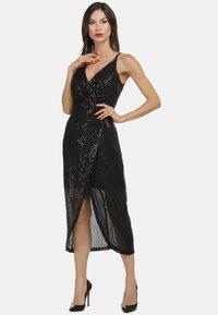 faina - Vestito elegante - schwarz - 1