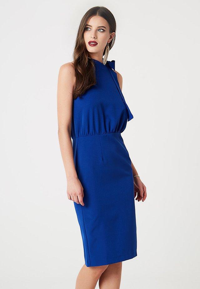 Fodralklänning - kobaltblau
