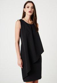 faina - Vestito elegante - schwarz - 0
