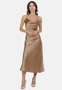 faina - Vestito elegante - champagner - 1