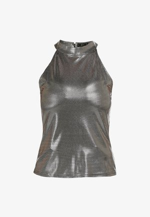 TOP - Blouse - silver
