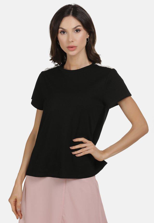 SHIRT - T-shirt imprimé - schwarz