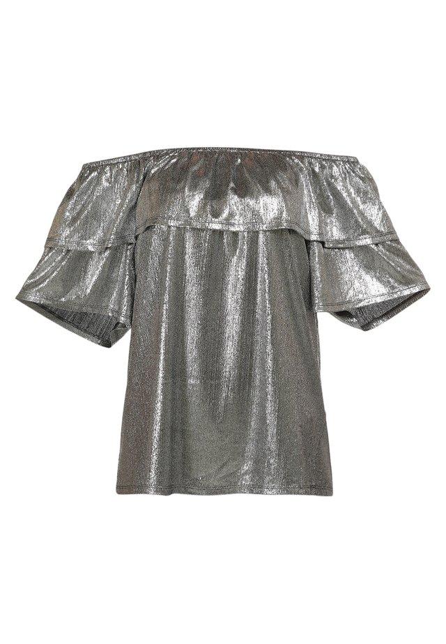 T-shirt basique - silber
