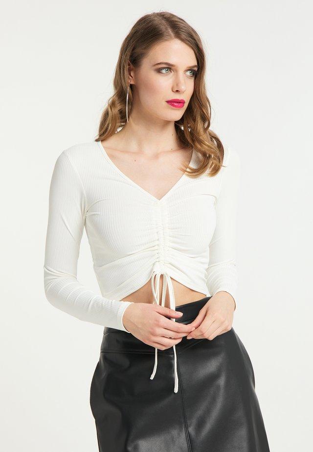 Pitkähihainen paita - weiss