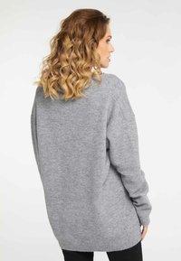 Faina - Pullover - grey - 2