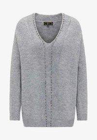 Faina - Pullover - grey - 4