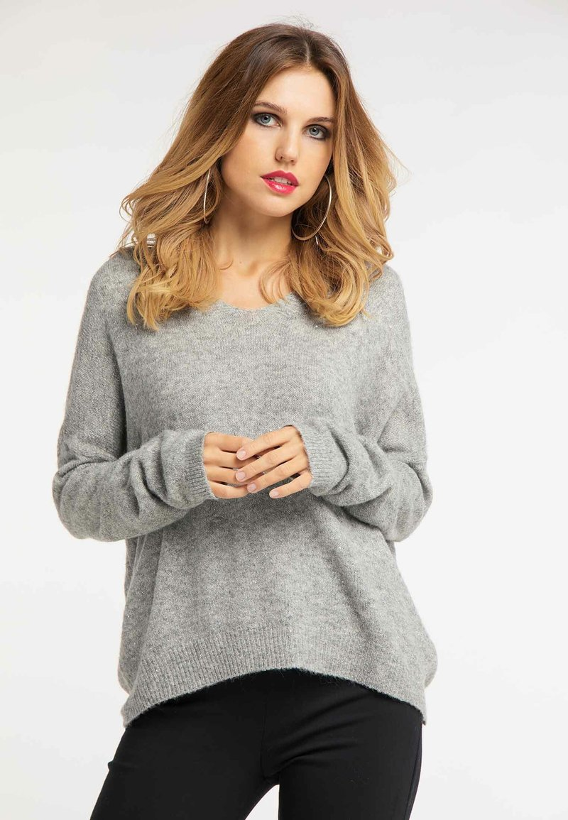 Faina - Pullover - dark grey