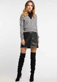 faina - Vest - melange grey - 1