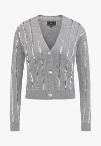 faina - Vest - melange grey - 4